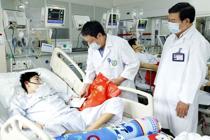 Do bệnh nặng nhiều bệnh nhân đã phải ở lại ăn tết bệnh viện