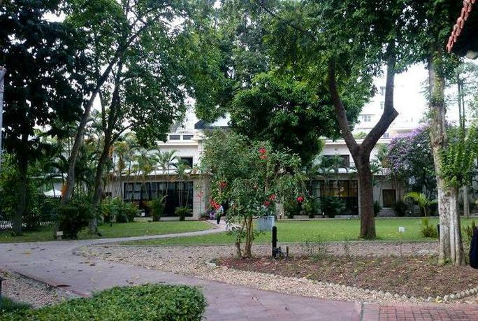 Khu vườn bí mật trong Đại sứ quán Pháp ở Hà Nội - Ảnh 13.