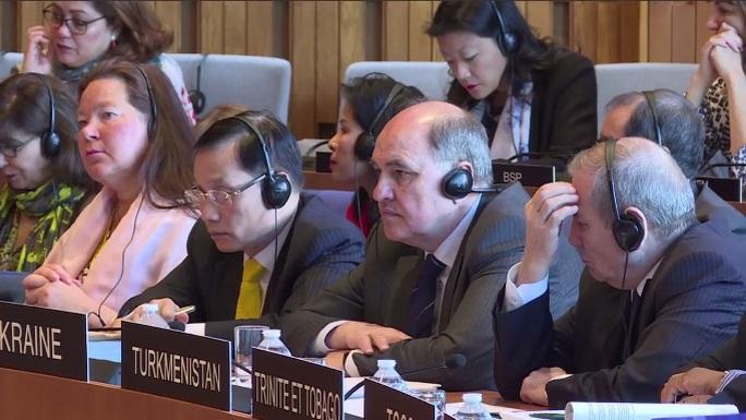 """Cận cảnh buổi """"thi"""" làm Tổng Giám đốc UNESCO của Đại sứ Phạm Sanh Châu"""