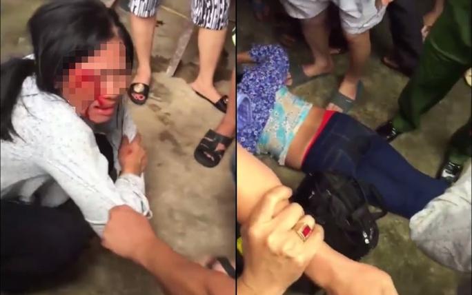 Đi bán tăm bông từ thiện, 2  phụ nữ bị đánh hội đồng dã man - Ảnh 1.