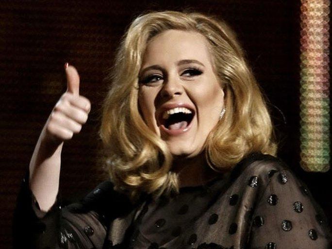 Adele - ca sĩ Anh quốc giàu nhanh nhất - Ảnh 1.