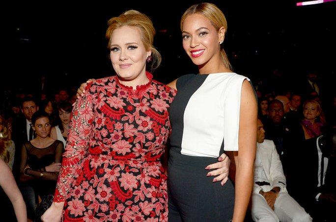 Beyonce và Adele là hai đối thủ nặng ký