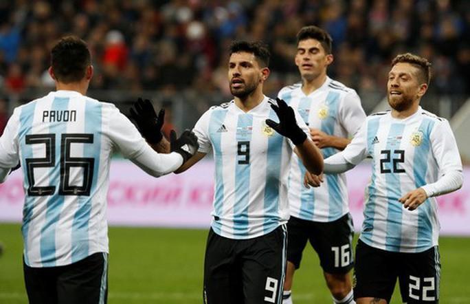Dàn sao Argentina, Tây Ban Nha tỏa sáng loạt trận giao hữu - Ảnh 4.