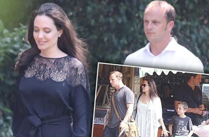 Angelina Jolie và người đàn ông được cho là tình mới của cô