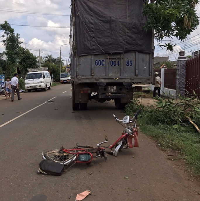 Tạm giam tài xế xe tải tông chết 2 thiếu nữ - Ảnh 1.