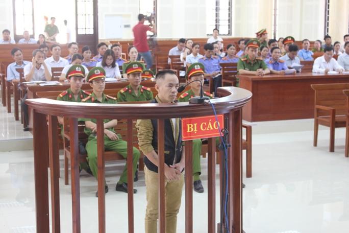 Bị cáo Nguyễn Văn Nam trong phiên tòa sơ thẩm