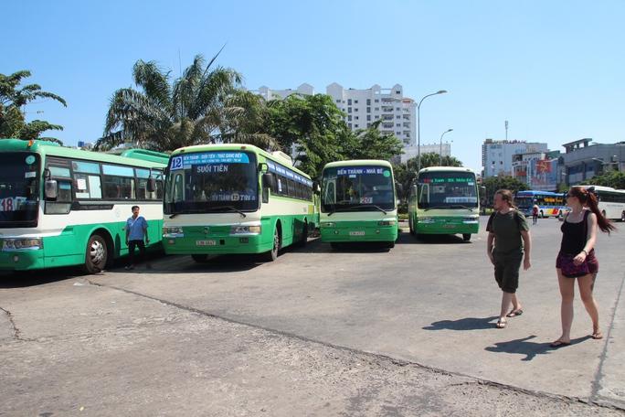 Các tuyến xe buýt được sắp xếp tăng chuyến nhằm phục vụ việc đi lại của người dân trong dịp Giỗ Tổ