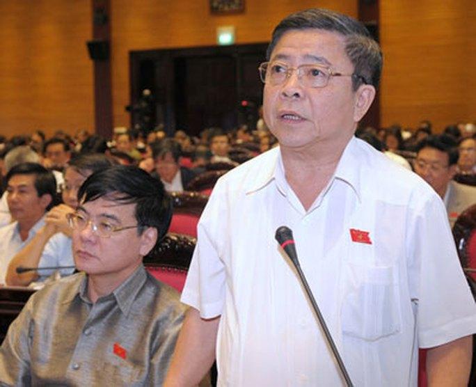 Ông Võ Kim Cự tại một phiên họp của Quốc hội Ảnh: NGUYỄN NAM