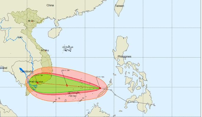 Dân TP HCM cảnh báo khẩn với cơn bão dự kiến - Ảnh 1.