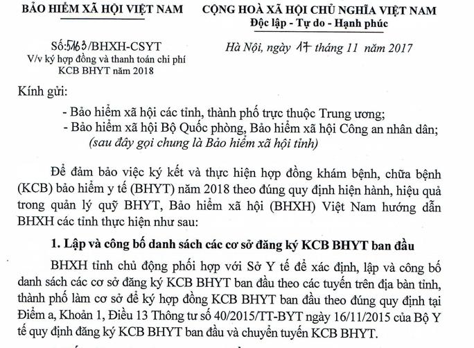 BHXH nói gì trước thông tin 200 bệnh viện tư không được khám BHYT - Ảnh 2.