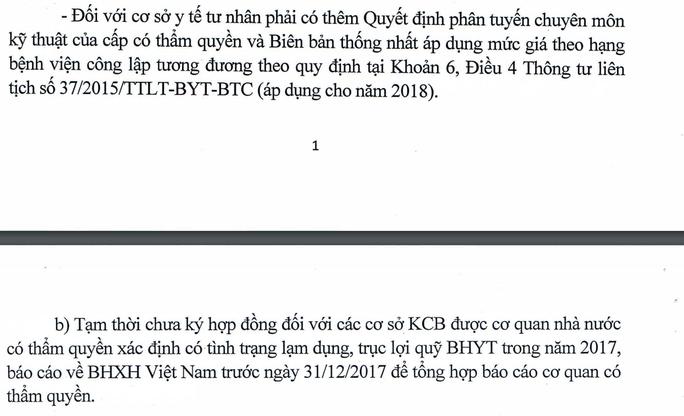 BHXH nói gì trước thông tin 200 bệnh viện tư không được khám BHYT - Ảnh 3.