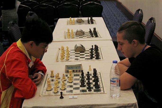 Nguyễn Anh Khôi giành HCV cờ nhanh trẻ thế giới - Ảnh 1.