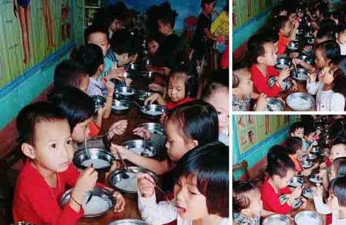 Tạm đình chỉ công tác hiệu trưởng nghi bớt tiền ăn trẻ mầm non - Ảnh 1.