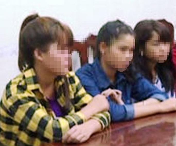 Nghe rủ rê, 3 thiếu nữ trốn nhà đi làm cave lương 30 triệu - Ảnh 1.