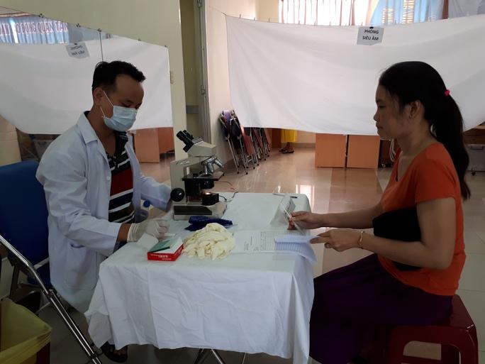 Chăm sóc sức khỏe cho 300 lao động nữ - Ảnh 1.