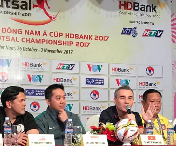 Futsal Việt Nam thận trọng trước Indonesia và Myanmar - Ảnh 1.