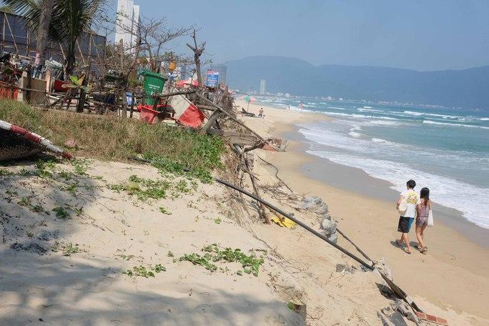 Biển Đà Nẵng đang bị xâm thực nặng nề