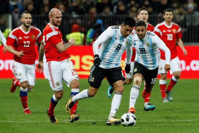 Dàn sao Argentina, Tây Ban Nha tỏa sáng loạt trận giao hữu - Ảnh 1.