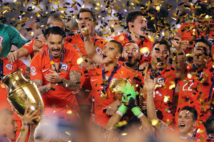 Chile vô địch Copa America đặc biệt kỷ niệm 100 năm thành lập CONMEBOL 2016