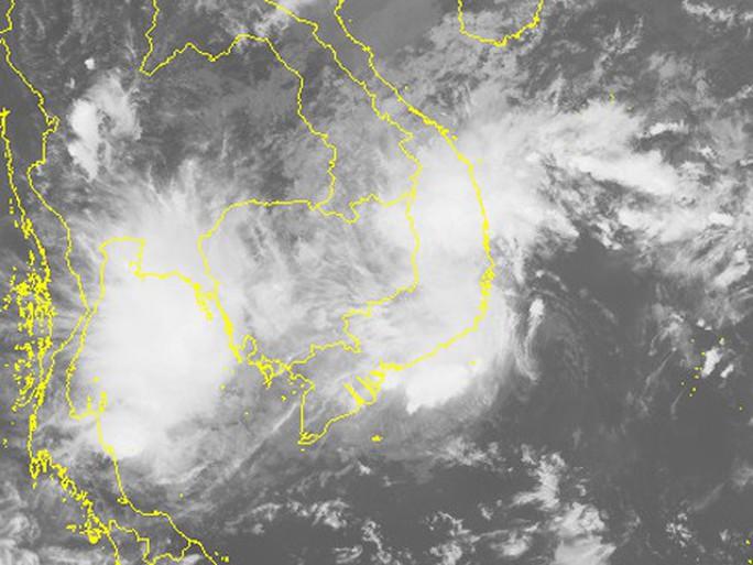 Áp thấp nhiệt đới vào Ninh Thuận-Bình Thuận, gây mưa lớn - Ảnh 2.