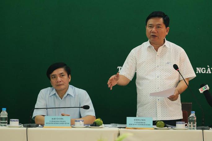 Bí thư Thành ủy Đinh La Thăng: Chỉ cần có quyết tâm là xây được nhà ở cho công nhân