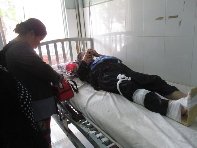 Cụ Đ. đang được điều trị tại Bệnh viện Đa khoa Trà Vinh
