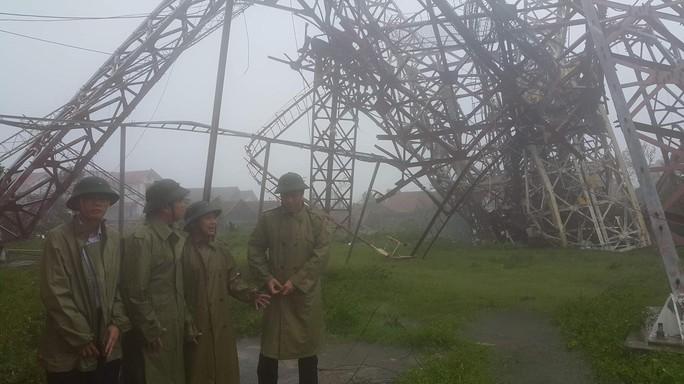 Bão số 10 quật đổ ăng-ten truyền hình-phát thanh cao 100 m - Ảnh 4.
