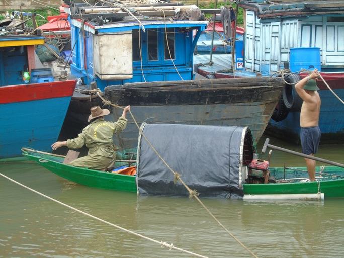 Bão số 4 đổ bộ vào Quảng Bình gây mưa lớn, nhiều nơi bị ngập - Ảnh 3.