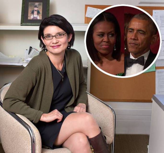 Ông Obama từng yêu và cầu hôn bà Sheila Miyoshi Jager trước khi gặp người phụ nữ ông cưới làm vợ là bà Michelle. Ảnh: perezhilton.com