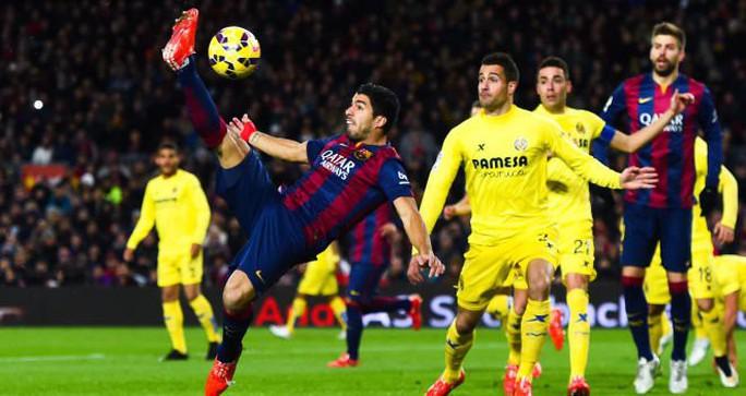 Villarreal khó ngăn được kỷ lục của Barcelona - Ảnh 1.