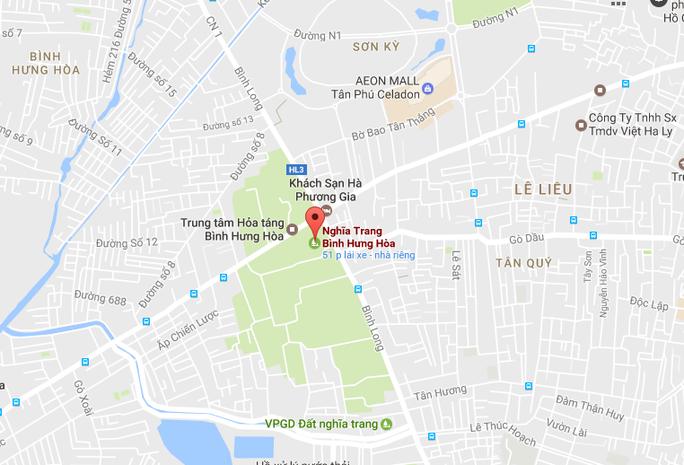 Hàng ngàn ngôi mộ ở nghĩa trang lớn nhất TP HCM chưa di dời - Ảnh 1.