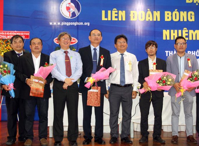 Liên đoàn Bóng bàn TP HCM có chủ tịch mới - Ảnh 1.