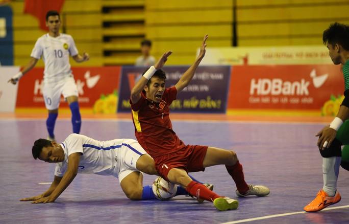 Thua sốc futsal Malaysia, Việt Nam dừng bước tại bán kết - Ảnh 5.
