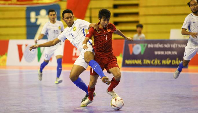 Thua sốc futsal Malaysia, Việt Nam dừng bước tại bán kết - Ảnh 3.