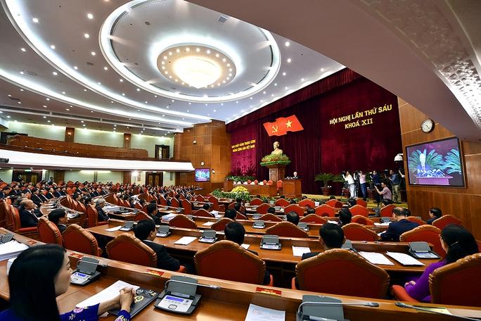 Tổng Bí thư phát biểu bế mạc Hội nghị Trung ương 6 - Ảnh 2.