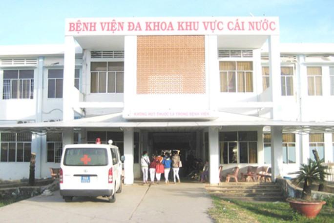 Bệnh viện Đa khoa khu vực Cái Nước, nơi xảy ra vụ truy sát