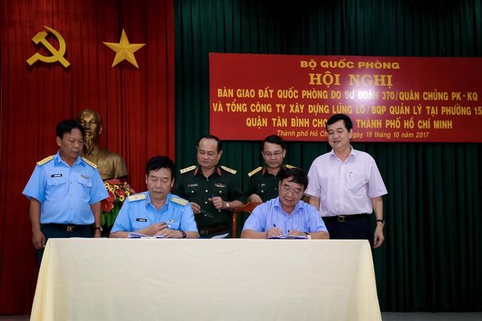 Bộ Quốc phòng bàn giao hơn 7.000 m2 đất  cho TP HCM - Ảnh 2.