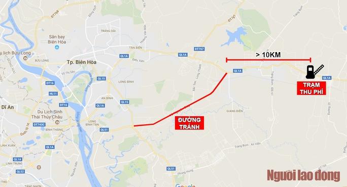 Toàn cảnh trạm thu phí BOT Biên Hòa xả trạm - Ảnh 12.