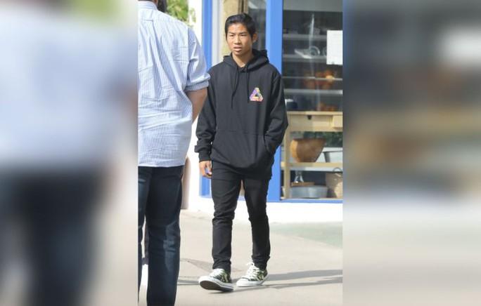 Pax Thiên và Brad Pitt đi trị liệu tâm lý - Ảnh 2.