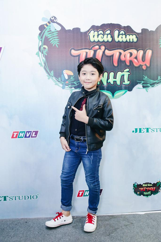 Bất ngờ với tài diễn xuất của hotboy nhí 8 tuổi - Ảnh 1.