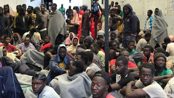 Chợ người tại Libya - Ảnh 1.
