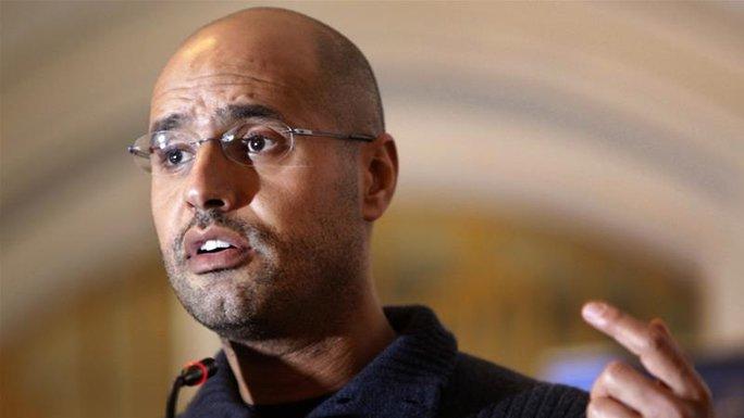 Lãnh án tử, con trai ông Gaddafi bất ngờ được phóng thích - Ảnh 1.