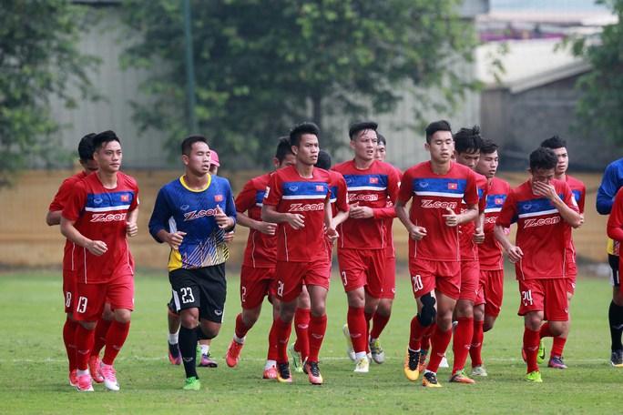 Các tuyển thủ U23 Việt Nam đã hội quân đầy đủ để chuẩn bị cho trận giao hữu với U20 Argentina