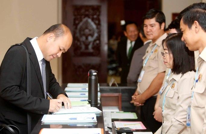 Campuchia sửa luật trước bầu cử - Ảnh 1.