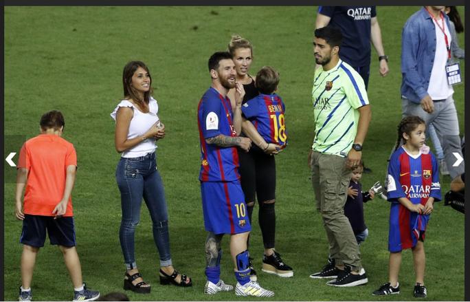 Loạt ảnh con sao Barcelona đáng yêu ở Cúp Nhà vua - Ảnh 11.