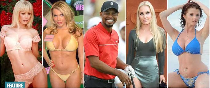 Những người đẹp trong đời Tiger Woods - Ảnh 1.