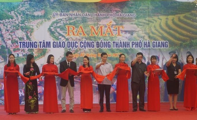Ra mắt Trung tâm giáo dục cộng đồng đầu tiên của cả nước - Ảnh 4.