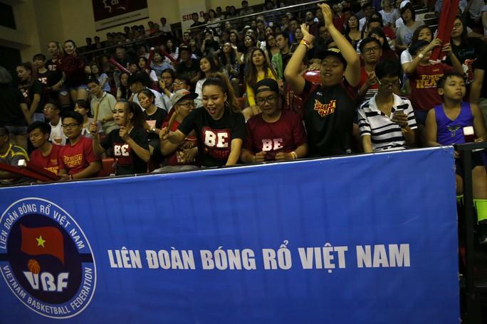 Saigon Heat xếp hạng ba toàn mùa giải ABL 2016-2017
