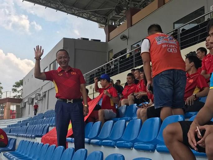 U22 Việt Nam - Thái Lan 0-3: Dừng chân SEA Games, HLV Hữu Thắng từ chức - Ảnh 11.