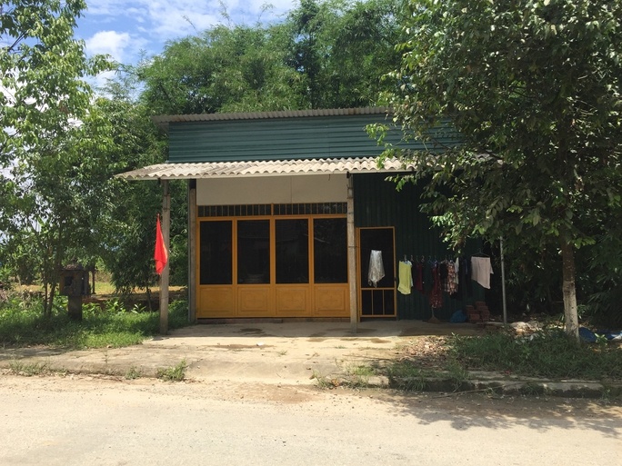 Nhà cha mẹ anh Đặng Hữu Nghị được xây mới ở quê. Ảnh: QUANG NHẬT